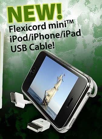 The All-New Flexicord holds its shape to provide the best in cable management solutions